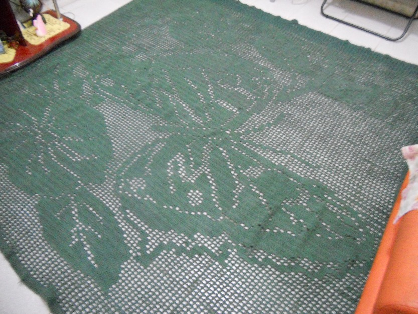 tapete para sala de croche em barbante tipo decoracao vendo tapete de