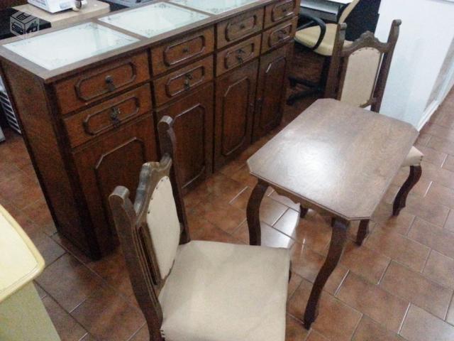 Jogo De Sala De Jantar Em Promocao ~ jogo sala de jantar e decoracao em cerejeira  Vazlon Brasil