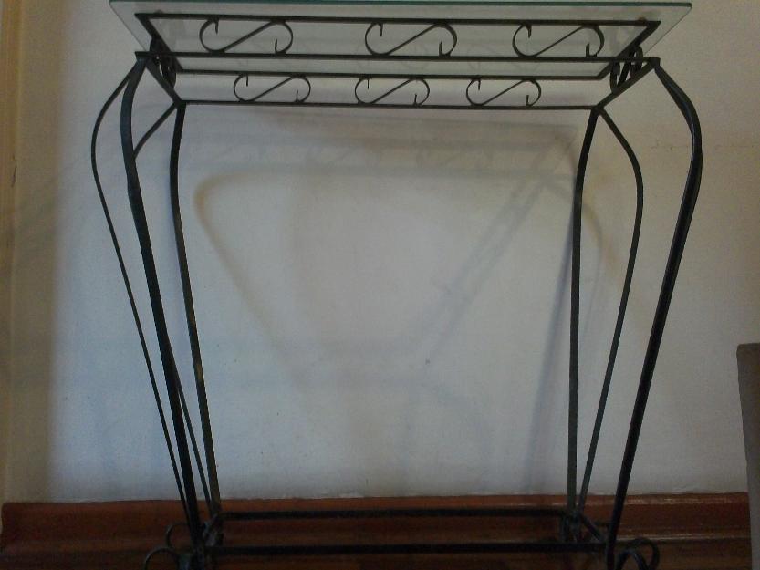 Aparador Pequeno Com Espelho ~ belissimo e antigo aparador de ferro e vidro cm alt x