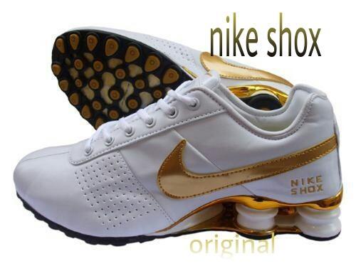 Tenis Nike Shox Turbo 13 Feminino Branco E Rosa Lancamento Pelauts