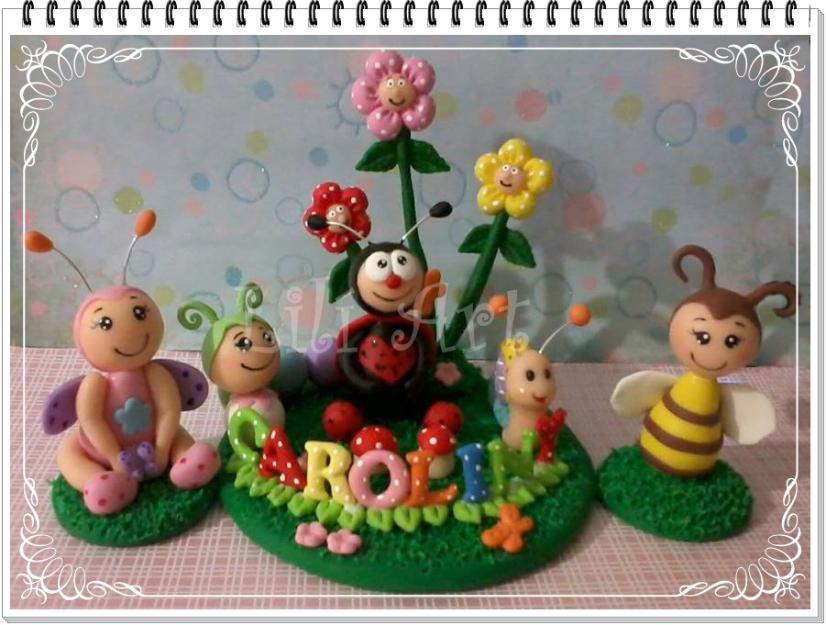 decoracao de bolo jardim encantado:decoracao jardim encantado