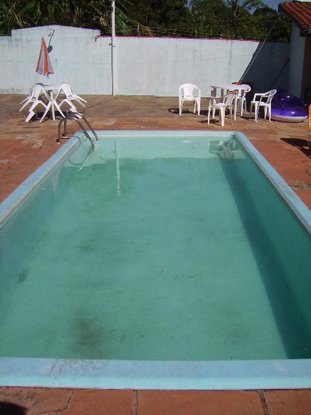 piscina de fibra infantil usada