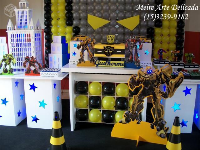 decoracao de festa dos transformers clean sorocaba  Vazlon Brasil