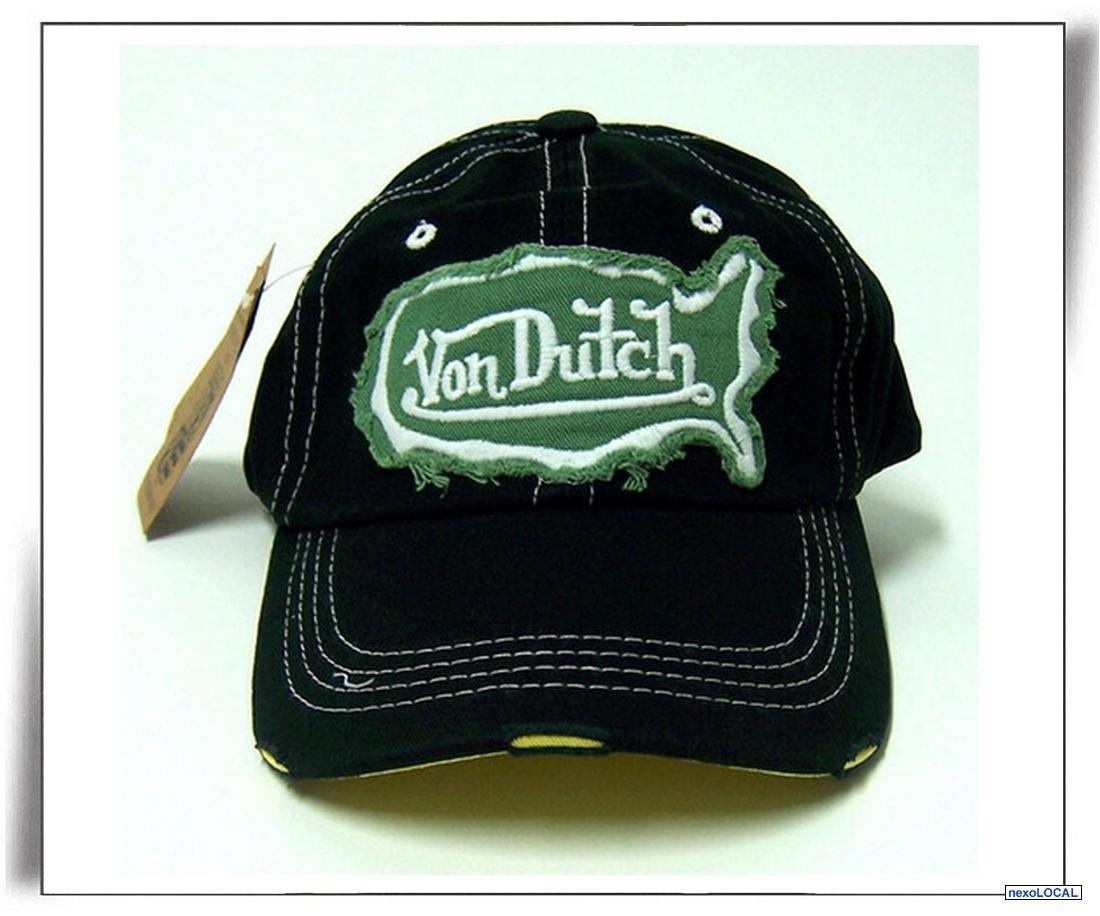 leilao bone von dutch kustommade preto verde imp   OFERTAS ... 5d36d9c5632