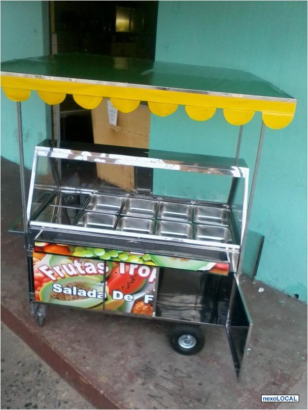 Carrinho de salada de frutas vazlon brasil - Carro de frutas ...