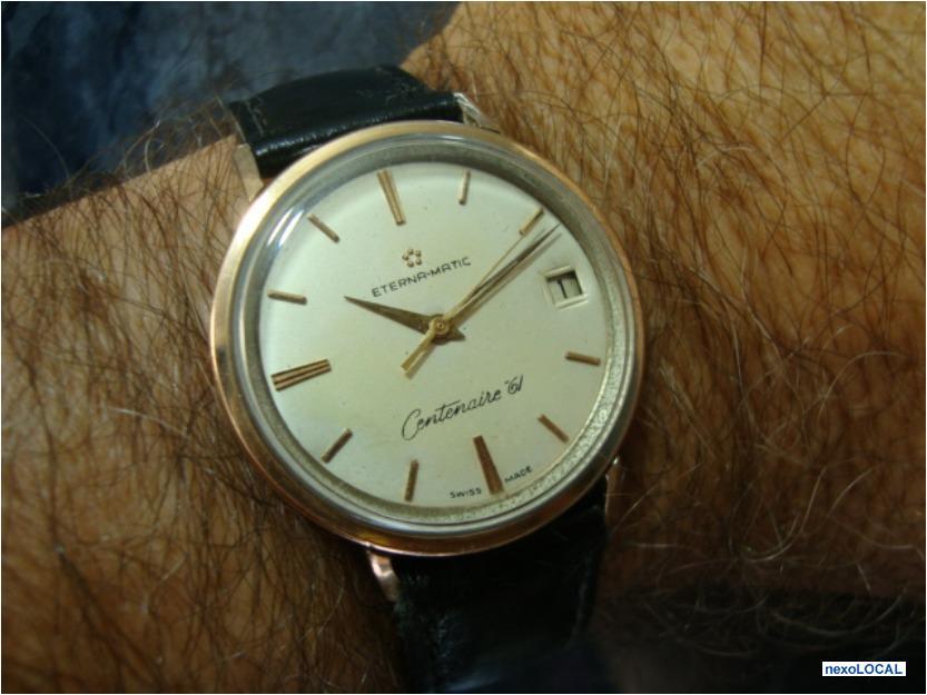 ac0a9e1c95f Relógio eterna matic centenaire anos antiguidade antigo