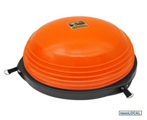Body Dome Balance Bosu Torian Meia Bola + Bomba Até Kg 3b3a82ac3f560