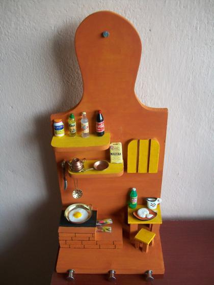Artesanato Facil E Lucrativo ~ porta chaves artesanato coisas de cozinha [ OFERTAS ] Vazlon Brasil