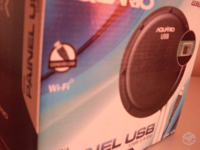 Antena Wireless Usb Aquario Usb + Cabo m Opo