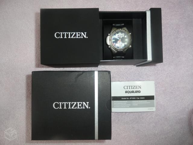 Citizen Aqualand II na Caixa com Manual Novo