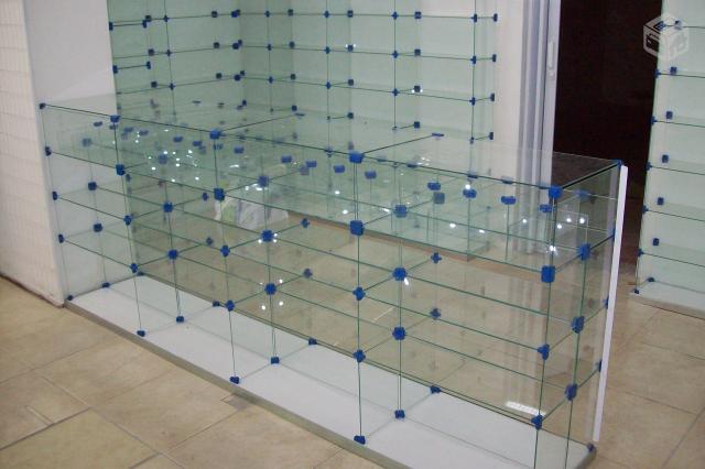 Estante De Vidro Temperado : Estantes de vidro temperado redonda [ ofertas ] vazlon brasil