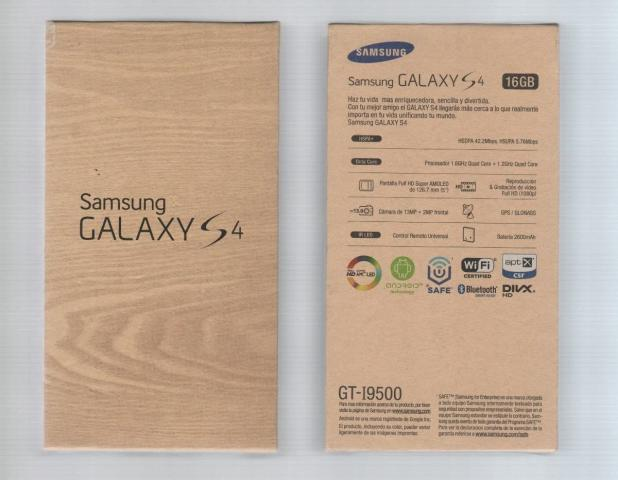 Celular Desbloqueado Samsung Galaxy S4 Gt I9500 Branco Com: Sansung Bean I [ OFERTAS ]