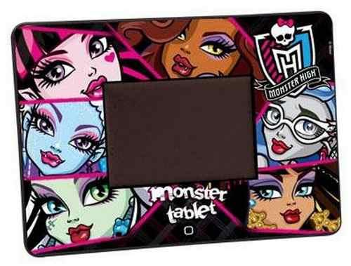 Tablet Monster High Touch Pad  Atividades Bilingue