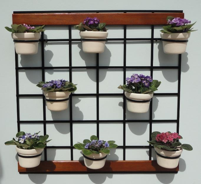 trelica bambu jardim : trelica bambu jardim:para jardim vertical com suportes para vasos treliça para jardim