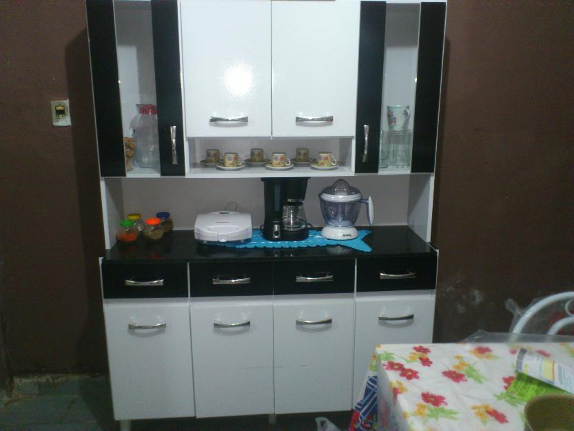 Armario de cozinha em madeira vazlon brasil - Armarios para casas pequenas ...