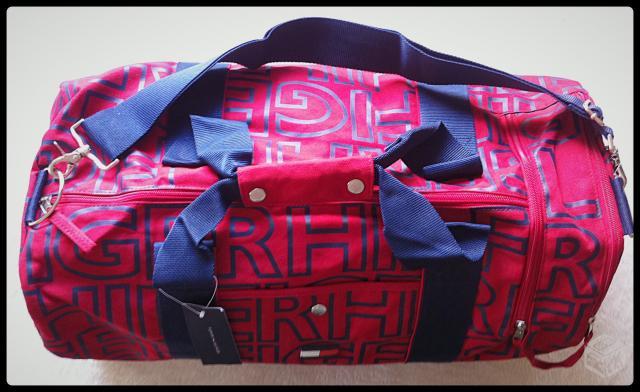 25ef4fdfe bolsa tommy hilfiger mini duffle bag mochila compra e venda ...