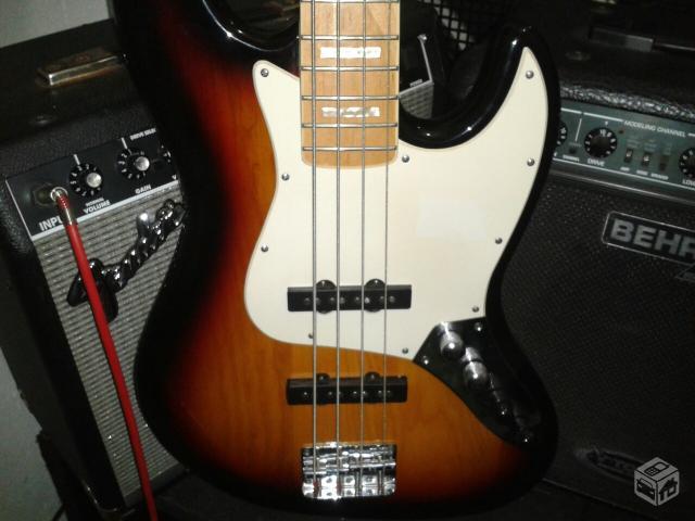 Circuito Ativo Fender Jazz Bass : Baixo fender squier jazz bass novo vazlon brasil