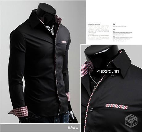 dc7aeda670 Camisa Social Slim Fit - Varios Modelos - Pronta E