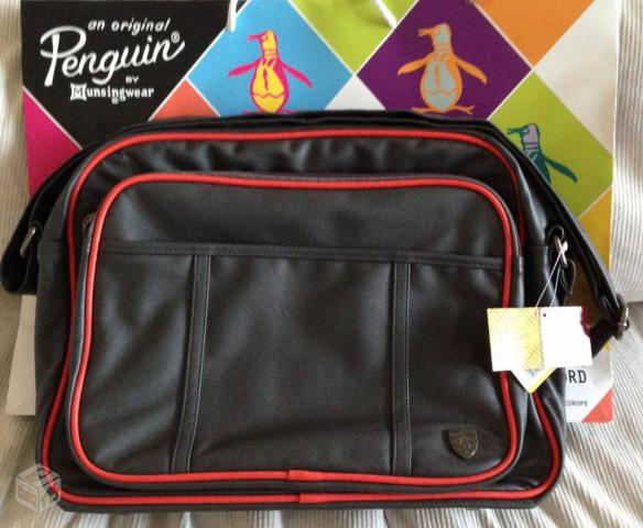 Bolsa De Couro Via Uno : Bolsa carteiro de couro via uno vazlon brasil