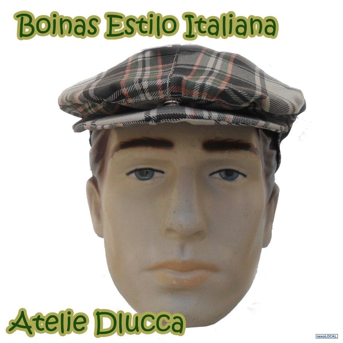Boné Boina Italiana - Recife - Pernambuco - Roupa - 280e6fc21c0