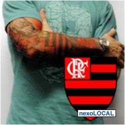 62340d427 Flamengo Fake Tattoo,sleeve Tattoo, Tatuagem Falsa - Taboão