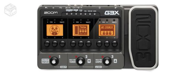 Pedaleira Zoom G3X