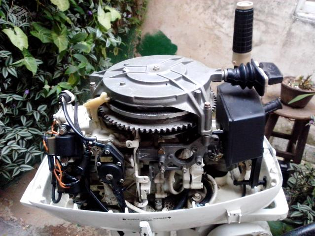 Motor de popa johnson  hp