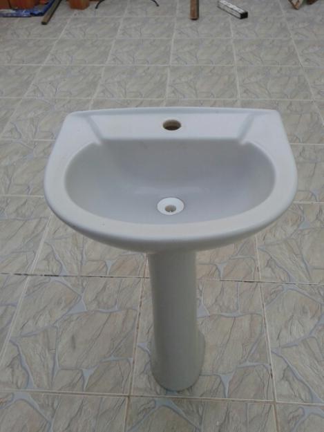 pia banheiro mais coluna r  Vazlon Brasil -> Gabinete Para Pia De Banheiro Com Coluna
