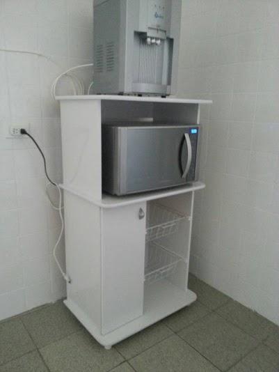 Casas cocinas mueble armario para microondas - Armario para microondas ...