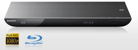 Blu-ray Player 3D Sony BDP-S Full HD p, 1 USB, Wi-Fi,