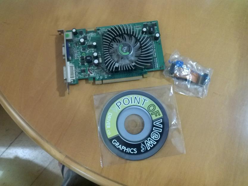 Placa de video point of view nvidia geforce gt ddr2
