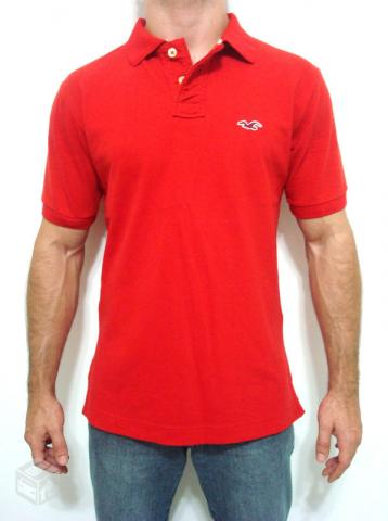 f51157a60 camisa polo hollister vermelha   OFERTAS