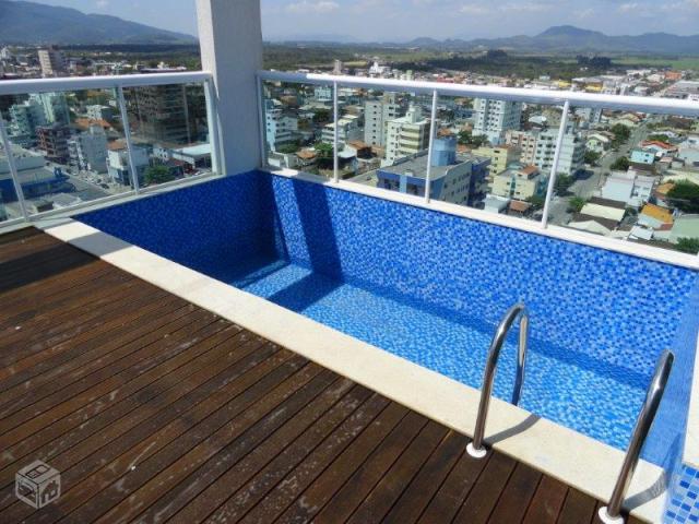 Excelente cobertura piscina sauna area de lazer e for Cobertura piscina