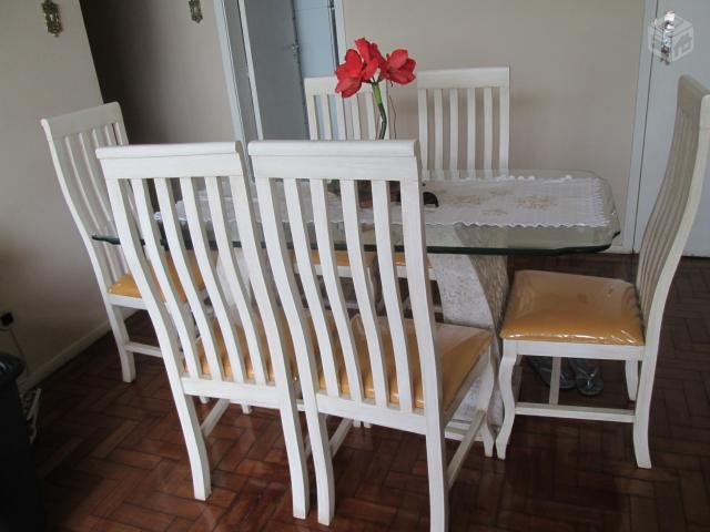 Mesa com tampo de vidro bisotado e ferro mesa centro mesa - Mesa de granito ...