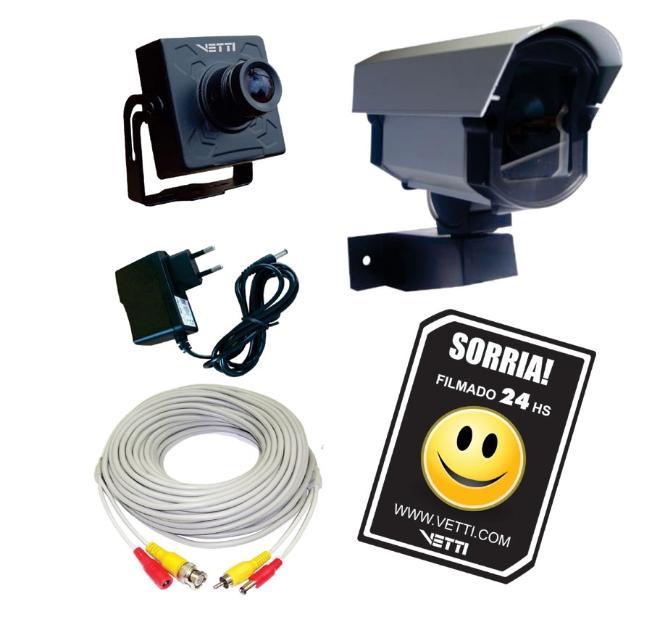 Kit de seguranca e vigilancia camera ligada direto na sua - Camera de vigilancia ...
