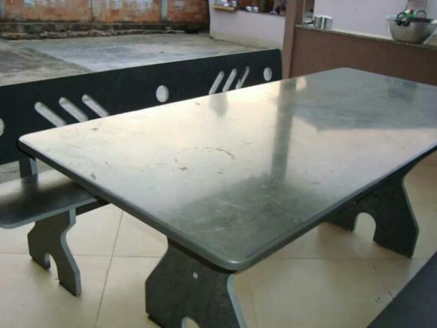 banco de jardim ardosia : banco de jardim ardosia:mesa de ardósia com 2 bancos mesa e 2 banco s em ardósia grossa