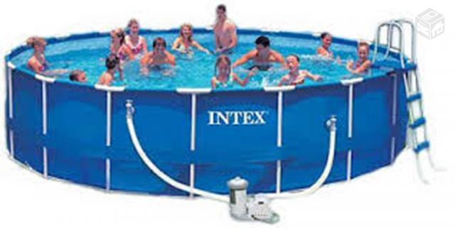 Envoltorio protecao p piscina redonda cm intex borda - Piscinas intex espana ...