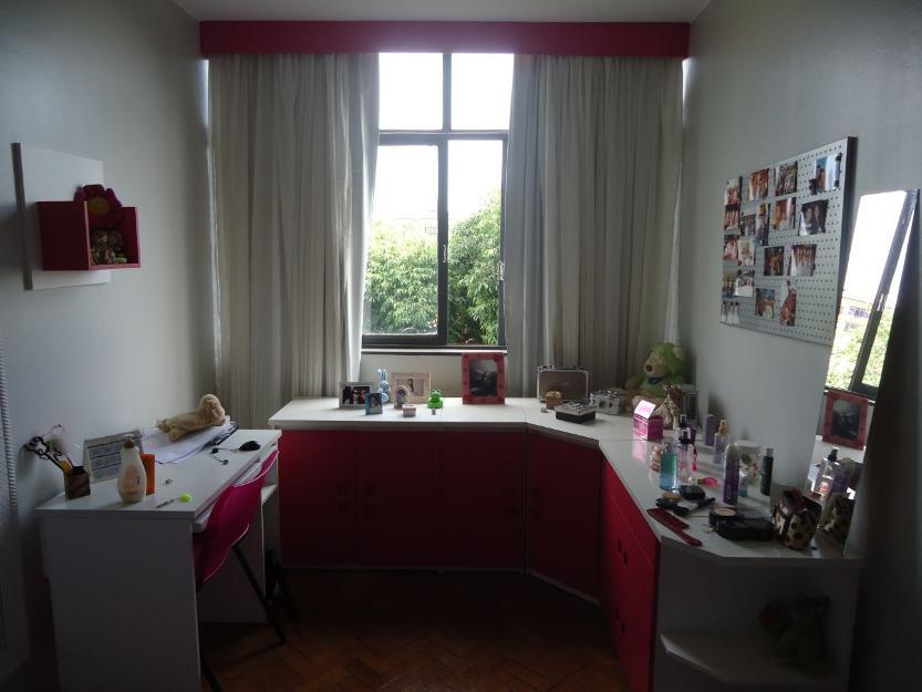 Quarto completo na cor rosa e branco ~ Quarto Solteiro Completo Rosa