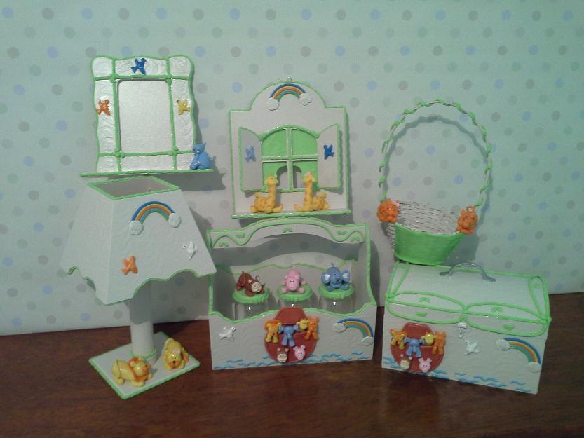 kits de biscuit para decoracao de quartos de bebes  Vazlon Brasil
