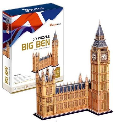 Torre do big ben decoracao escultura artesanato vazlon for Architectural decoration crossword clue