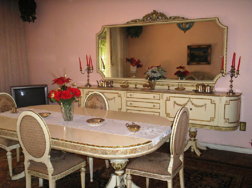 Moveis Luis Xv Sala De Jantar ~ sala de jantar luis xvi buffet e mmesa de jantar luís xvi c espelho
