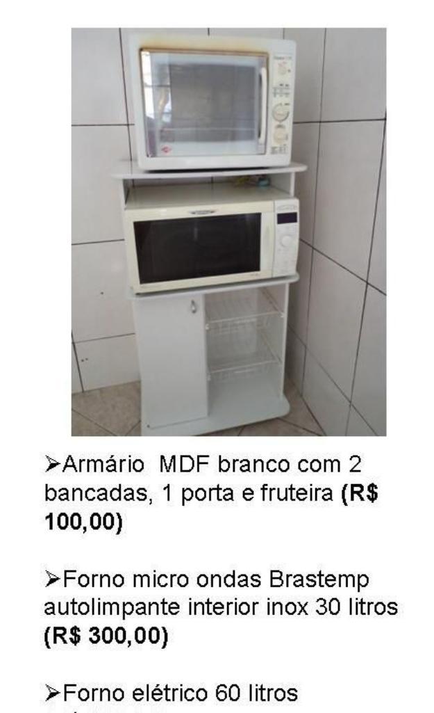 Aparador Ingles Antiguo ~ fruteira balcao forno e micro Vazlon Brasil