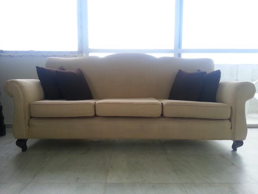 Sofa 3 e 2 poltronas estilo colonial vazlon brasil - Sofas estilo colonial ...