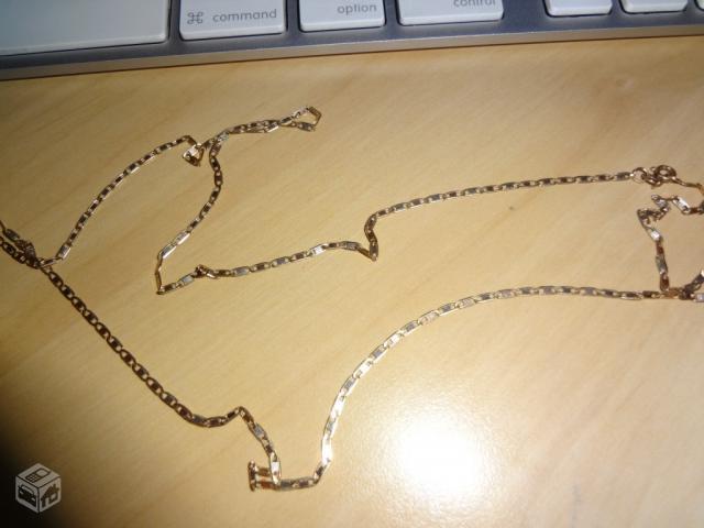 f15b12a8fc6 corrente de ouro k macica modelo piastrine   OFERTAS