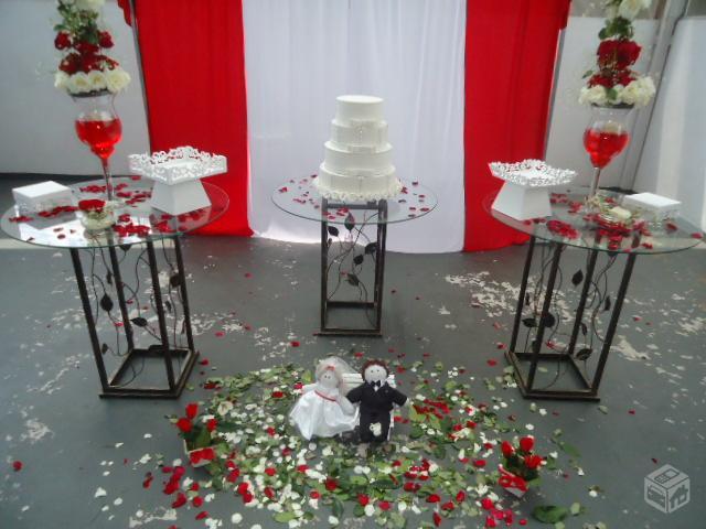 decoracao casamento branco e vermelho: casamento completo nas cores ...