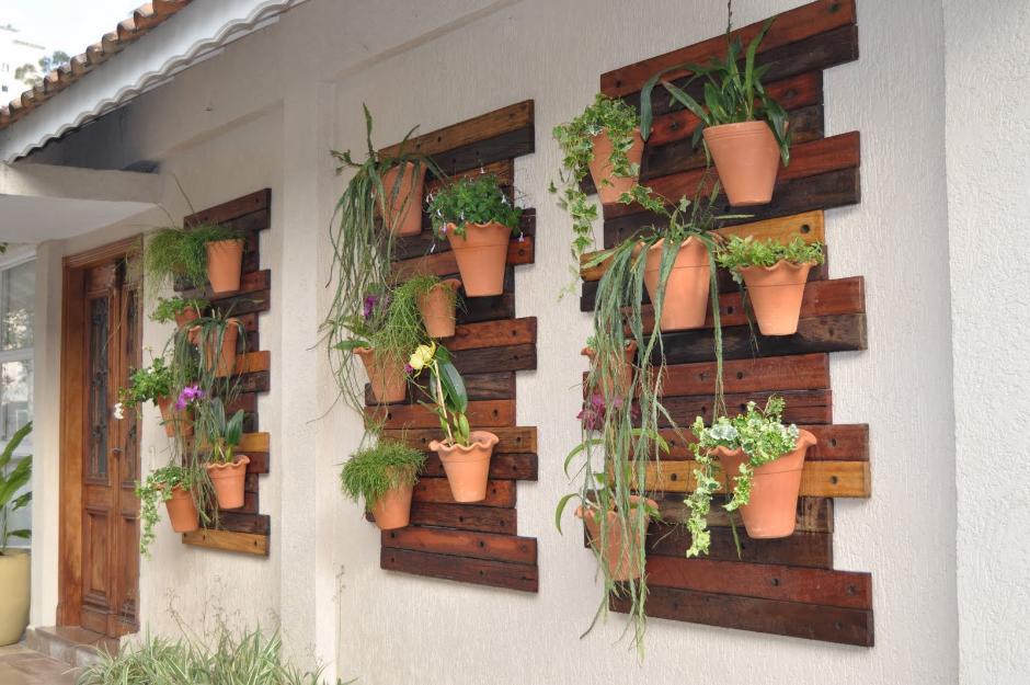 jardim vertical moderno:Jardim vertical / Painéis decorativos