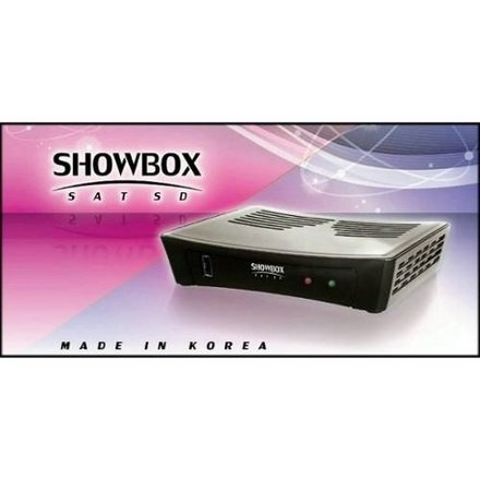 showbox branco 2 controles novo na caixa para 2 receptor showbox