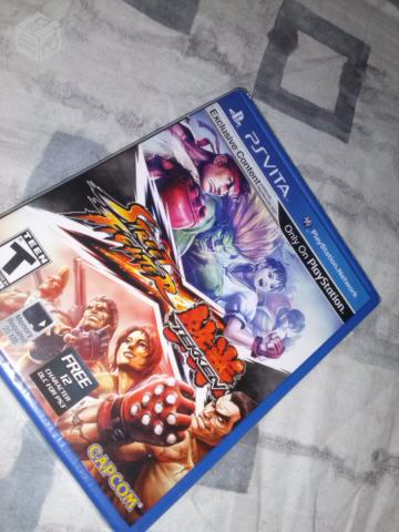 Game Street Fighter X Tekken Lacrado (PSVITA)