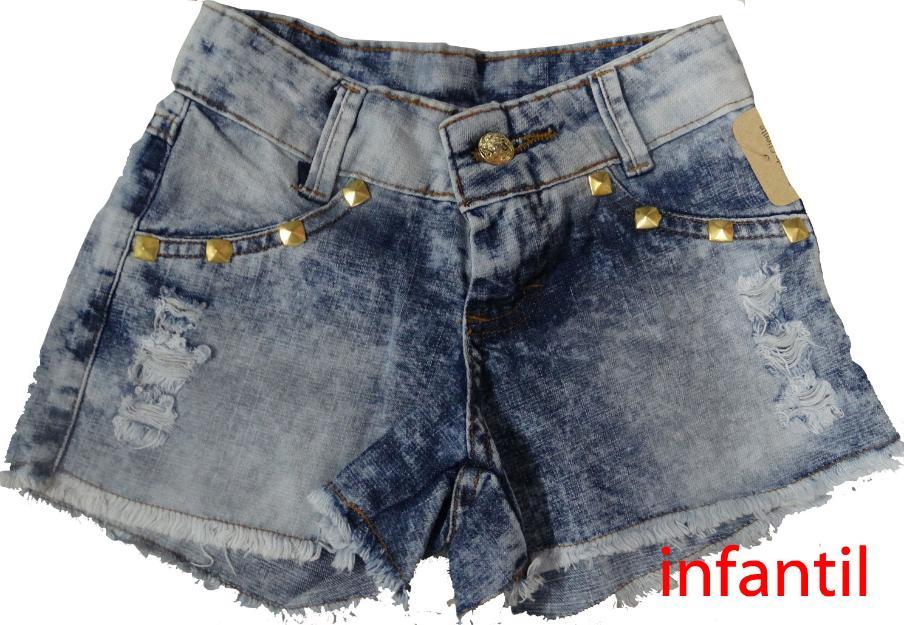 Short jeans no atacado | Vazlon Brasil