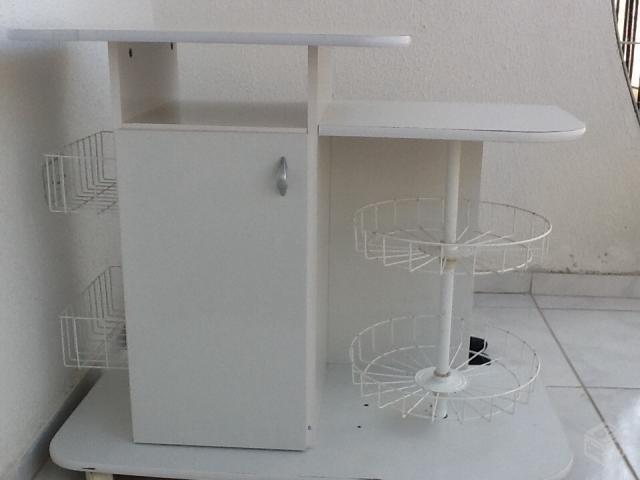 Mesa Com Fruteira Para Microondas Vazlon Brasil